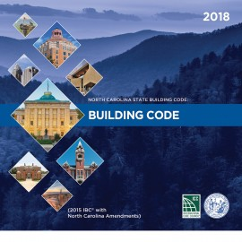 North Carolina State Building Code 2018