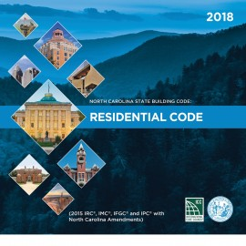 North Carolina State Residential Code 2018