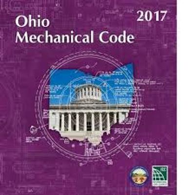 Ohio Mechanical Code 2017