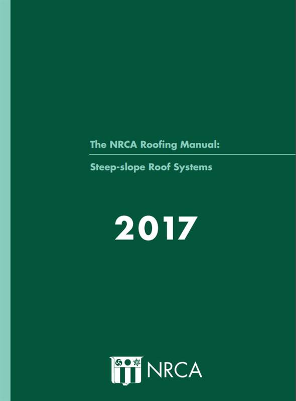 NRCA Steep Slope Roof Systems 2017