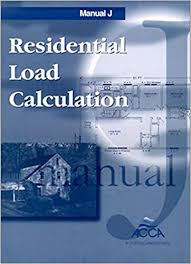 Manual J 7th edition residential load calculations