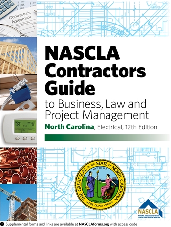 contractors guide to business and project management north carolina electrical 12th edition