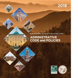 North Carolina State Administrative Code and Policies 2018