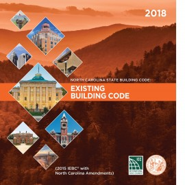 North Carolina State Existing Building Code 2018