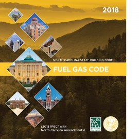 North Carolina State Fuel Gas Code 2018