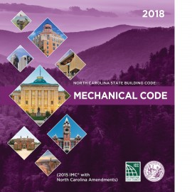 North Carolina State Mechanical Code 2018