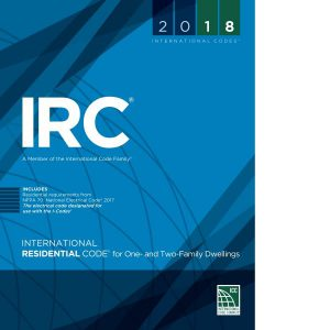 2018 international residential code