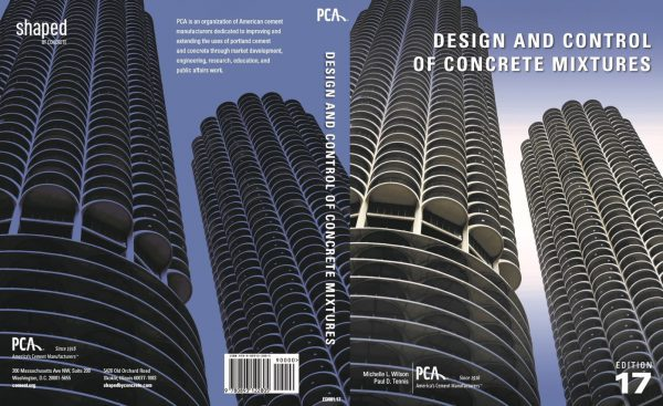 design and control of concrete mixtures 17th edition